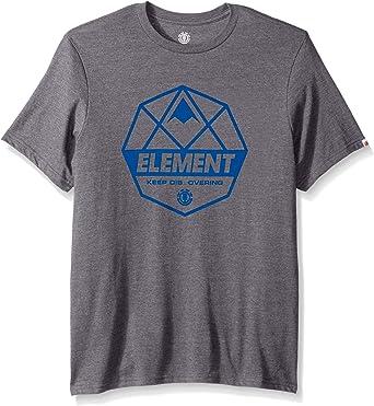 Element - Camiseta de manga corta para hombre - - Small: Amazon.es: Ropa y accesorios