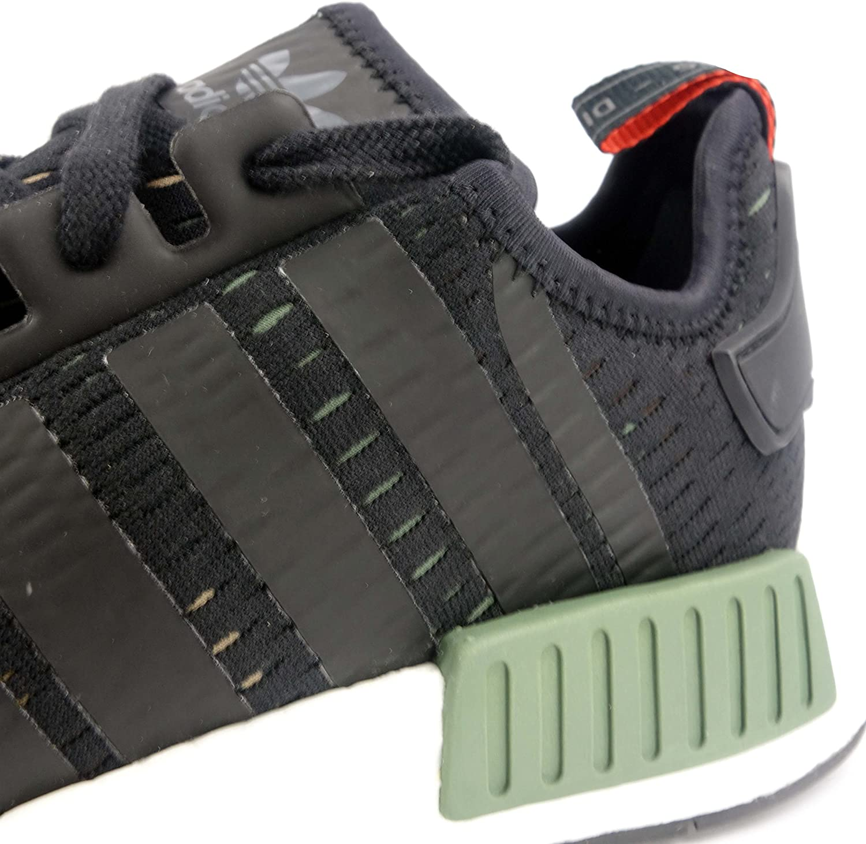 adidas Originals Damen NMD_r1 Turnschuh, Beige/Weiß Green Core White Black Bb1357