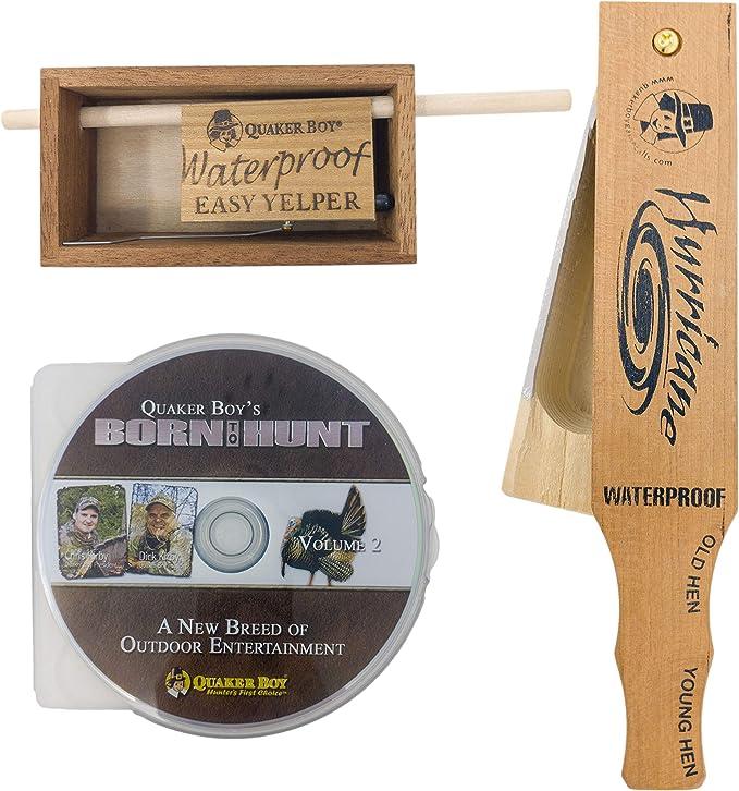Quaker Boy 13608 H20 Waterproof Easy Yelper Turkey Call for sale online