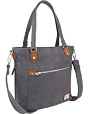 Travelon Anti-Theft Heritage Travel Totes, Pewter