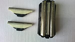 New 2X Cutter Blade + 1X Foil Shaver Foil Screen For Philips COMB QC5550 QC5570 QC5580 Shavers Replacement Head Parts......