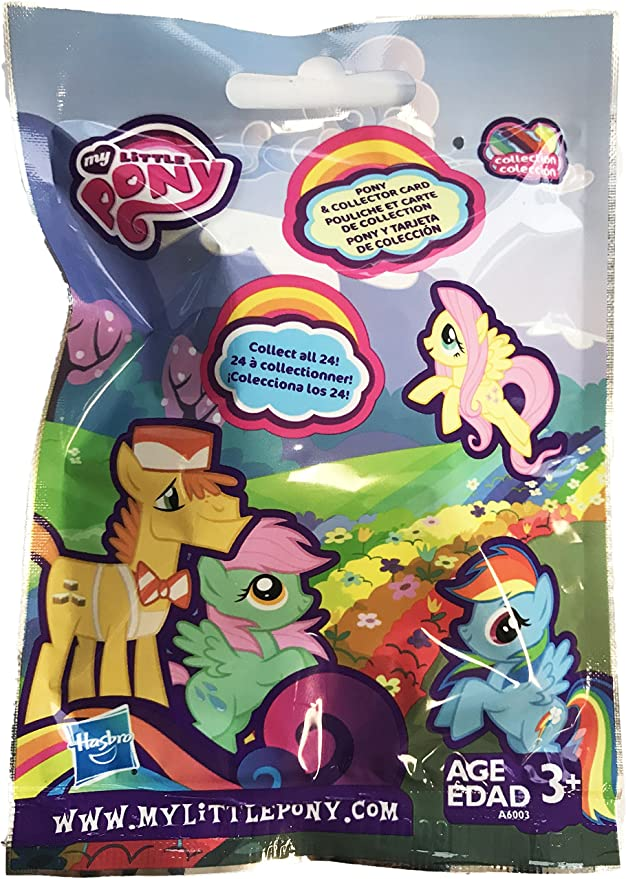 My Little Pony Suprise Mini Figure Blind Pack Lot of 3 Packs