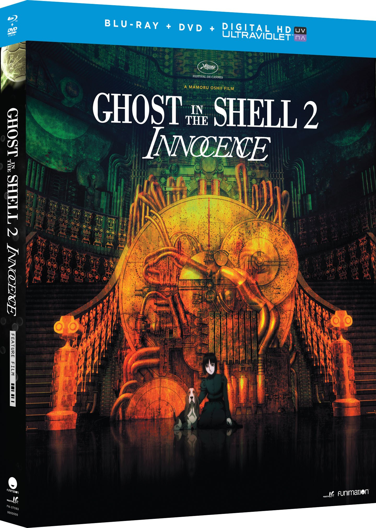 Blu-ray : Ghost In The Shell 2: Innocence (With DVD, Ultraviolet Digital Copy, 2 Disc)