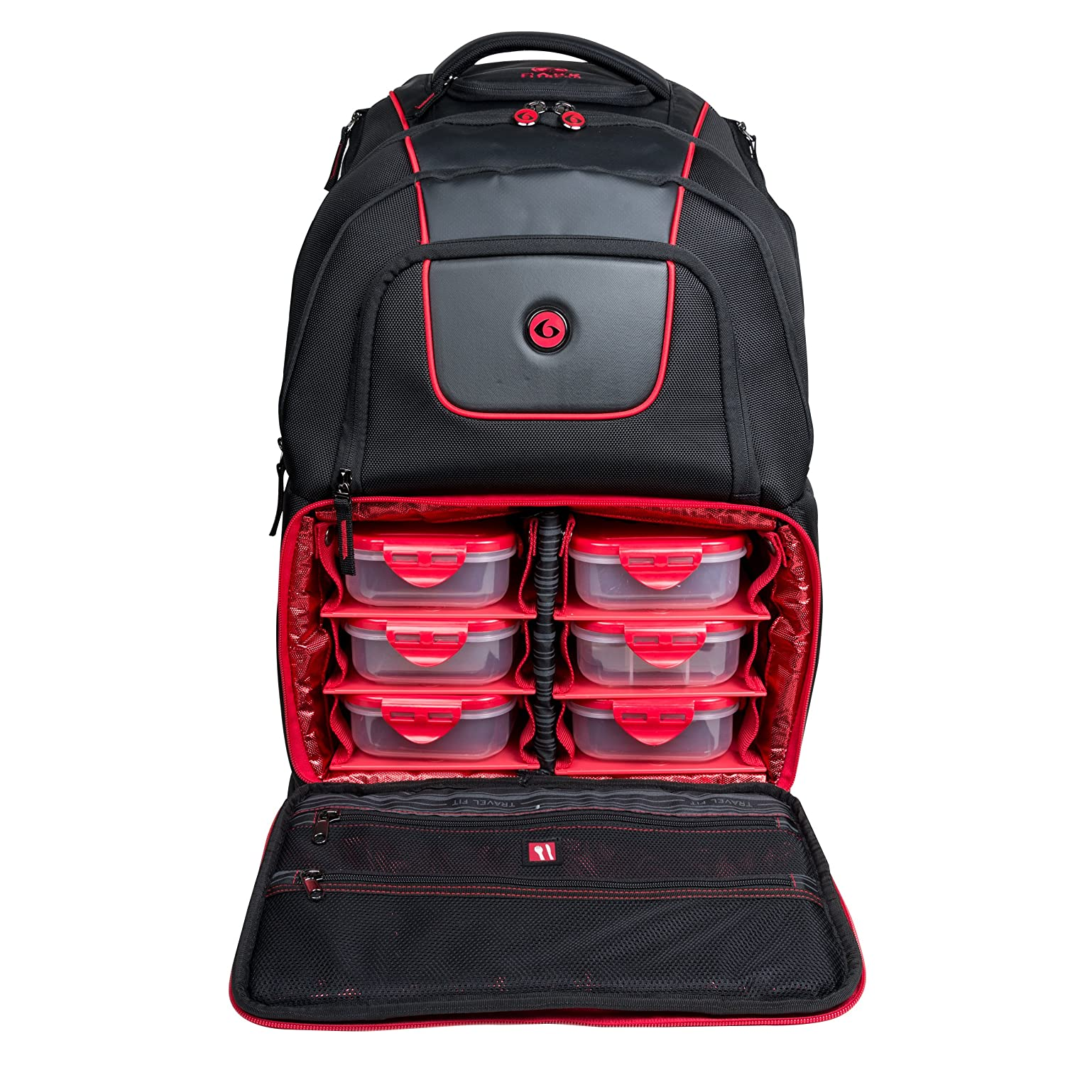 4773dcdb8ecf 6Pack Fitness - Voyager 500 Backpack  Amazon.co.uk  Health   Personal Care