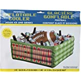 "Football Fan Birthday Party Inflatable Plastic Cooler , 14"" x 29"""