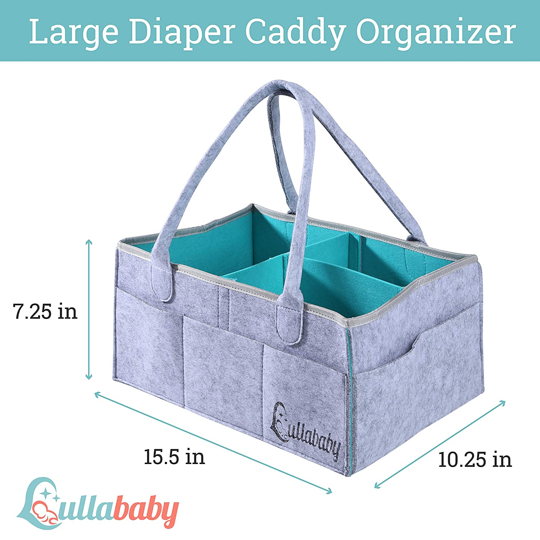 9 bolsillos Homeriy Bolsa de almacenamiento para cuna de beb/é juguetes bolsa de almacenamiento para pa/ñales organizador para cuna de beb/é