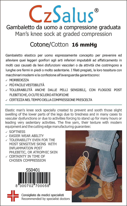 Offerta 3x2 Gamb. uomo cotone a compressione graduata Cizeta Srl