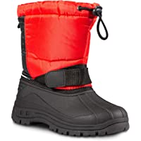 d49f76d3829cae ZOOGS Kids Snow Boots for Girls and Boys  Youth and Toddler Snow Boots