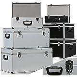 Masko® 3er SET Alu Boxen ✓ Alubox ✓ Alukiste ✓ Werkzeugkoffer ✓ Werkzeugkasten ✓ Transportbox   Werkzeugkiste   Lagerbox NEU Werkzeug Box   Farbe: Silber