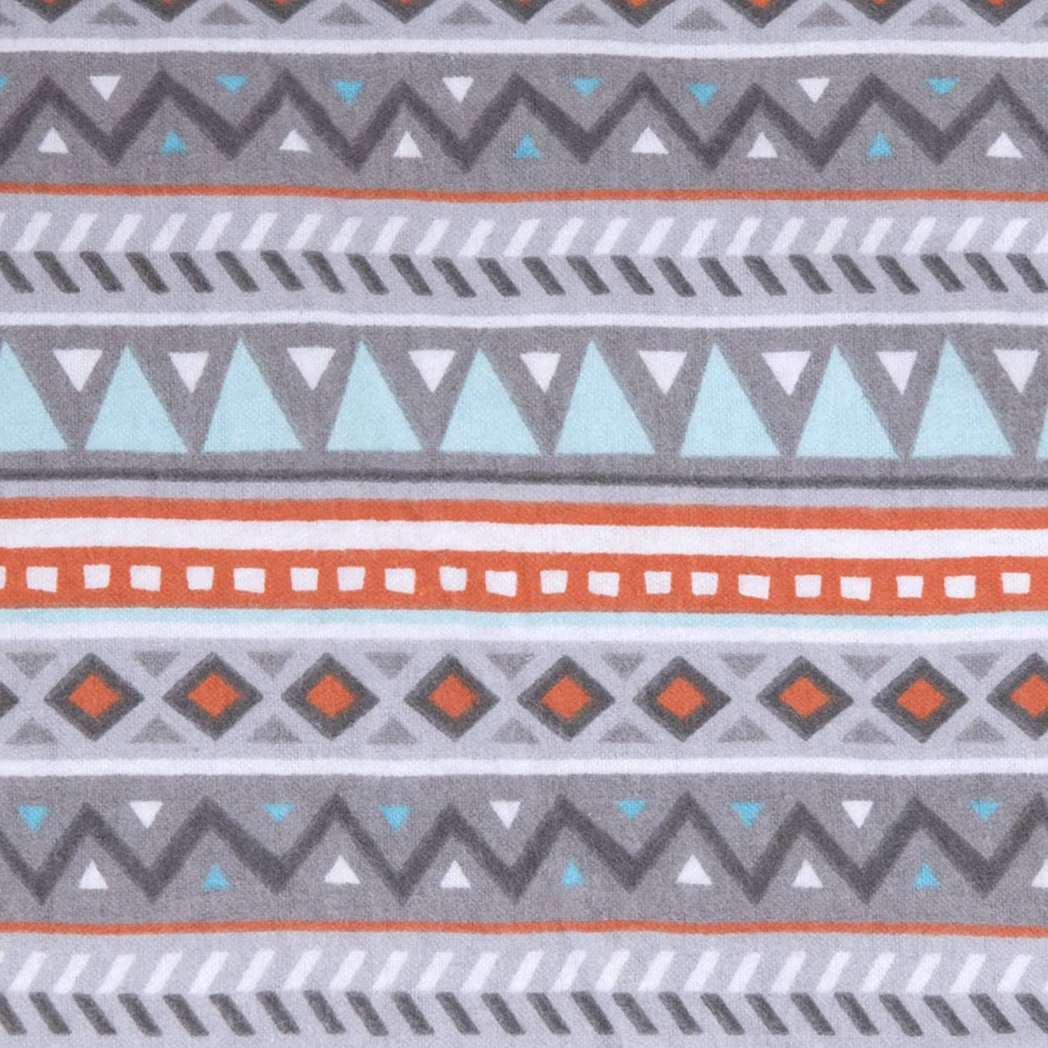Multi Trend Lab Aztec Deluxe Flannel Fitted Crib Sheet