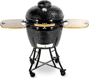 PIT BOSS 71240 Kamado BBQ Ceramic Grill Cooker, 24