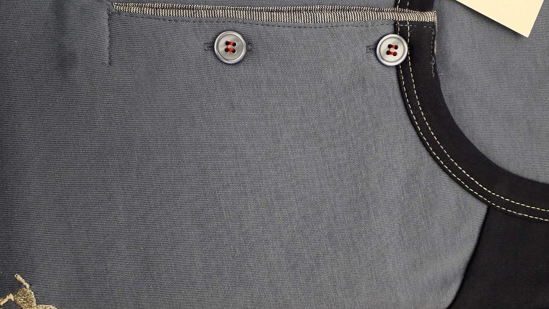 Pigiama Uomo Cotone Leggero Lungo Bip Bip Ambizione 1451 Blu
