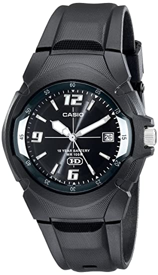 e7c0ead05625 Amazon.com  CASIO Men s MW600F-1AV 10-Year Battery Sport Watch  Casio   Watches