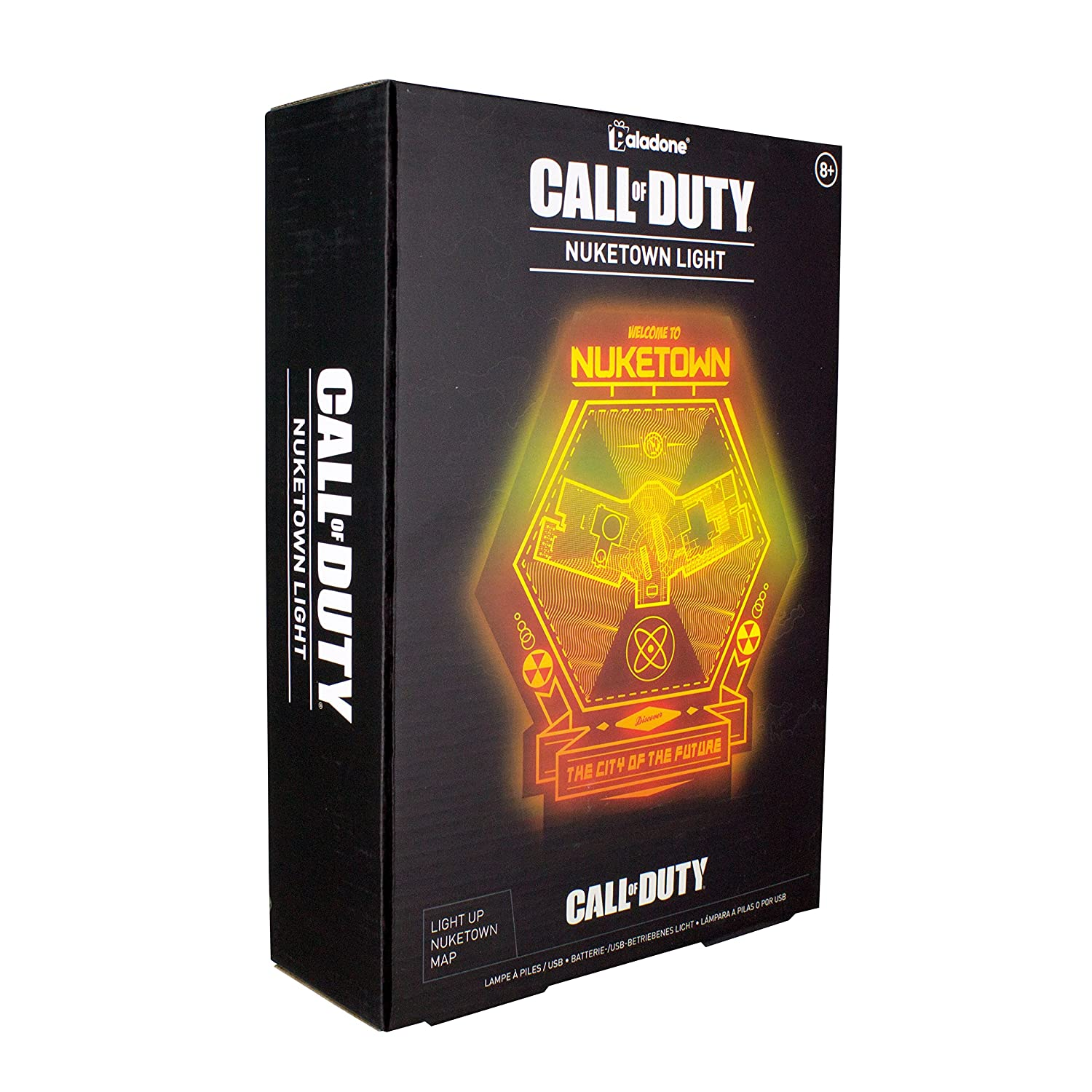 Official Call of Duty Nuketown Night Light Lamp Paladone Inc PP4069CODTX