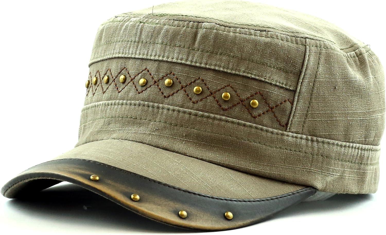 THE HAT DEPOT Cadet Cap-...