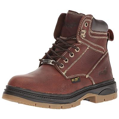 """Adtec Men's 9426 6"""" Steel Toe Work Boot Brown: Shoes"""