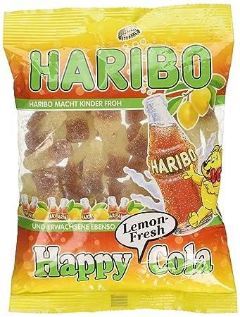amazon com haribo happy cola lemon fresh 200g gummy candy