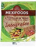 Mexifoods Tortilla Integral - 6 Paquetes de 320 gr - Total: 1920 gr