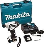 マキタ(makita) 充電式インパクトドライバ(白) 10.8V 1.5Ah バッテリ2本・充電器・ケース付 TD110DSHXW