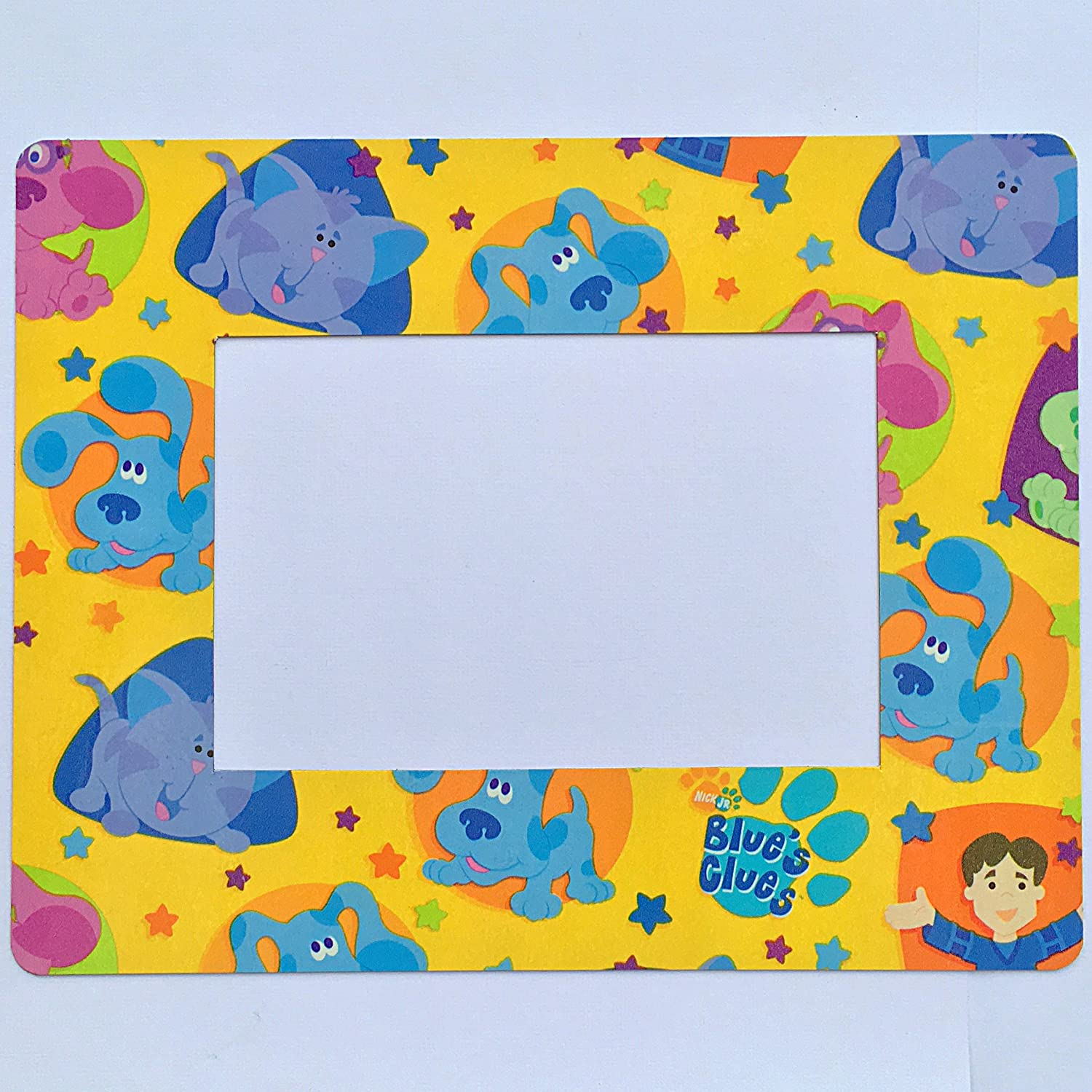 """Blues Clues Refrigerator Magnet 4""""x6"""" Photo Magnetic Picture Frame Nickelodeon"""