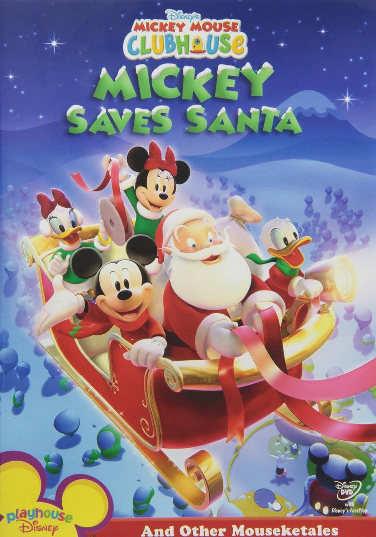 Mickey Mouse Clubhouse: Mickey Saves Santa (Bilingual) Bill Farmer Tony Anselmo Tress MacNeille Russi Taylor