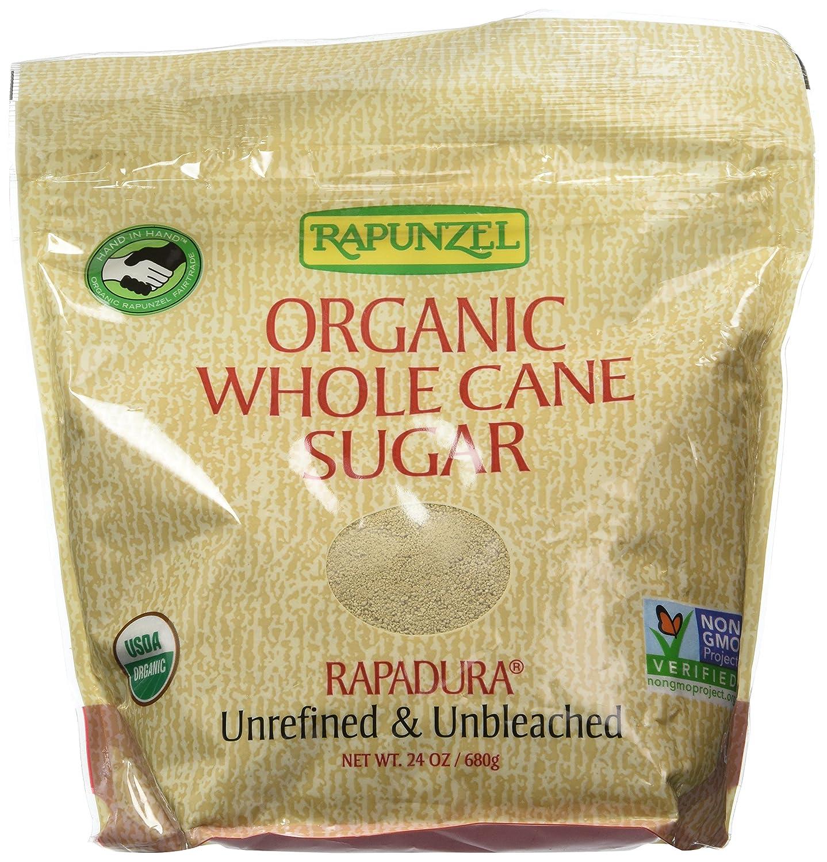 Unbleached cane sugar