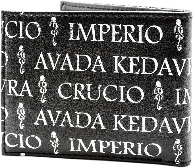 H.P Imperio Crucio mal/édiction Portefeuille Noir