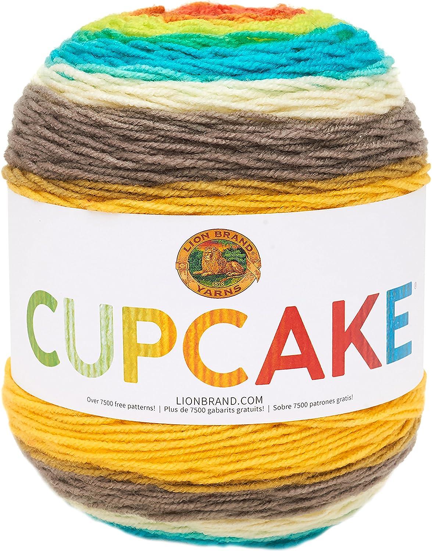 Lion Brand Yarn 935-205 Cupcake Yarn Gelato