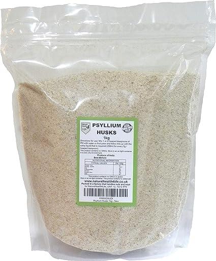 Psyllium Husks 1kg by Natural Health 4 Life