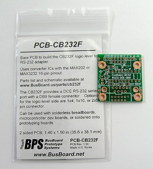 Amazon com: PCB-CB232F ComBoard Adapter RS-232 DB-9F (DCE