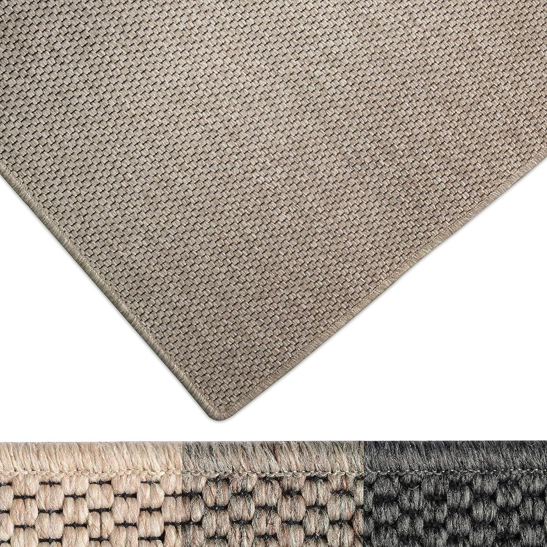 Casa pura Moderner Teppich in Premium Sisal Optik   ausgezeichnet mit GUT-Siegel   pflegeleichtes Flachgewebe   viele Größen (beige, 200x240 cm) B01K1VKAY8 Teppiche