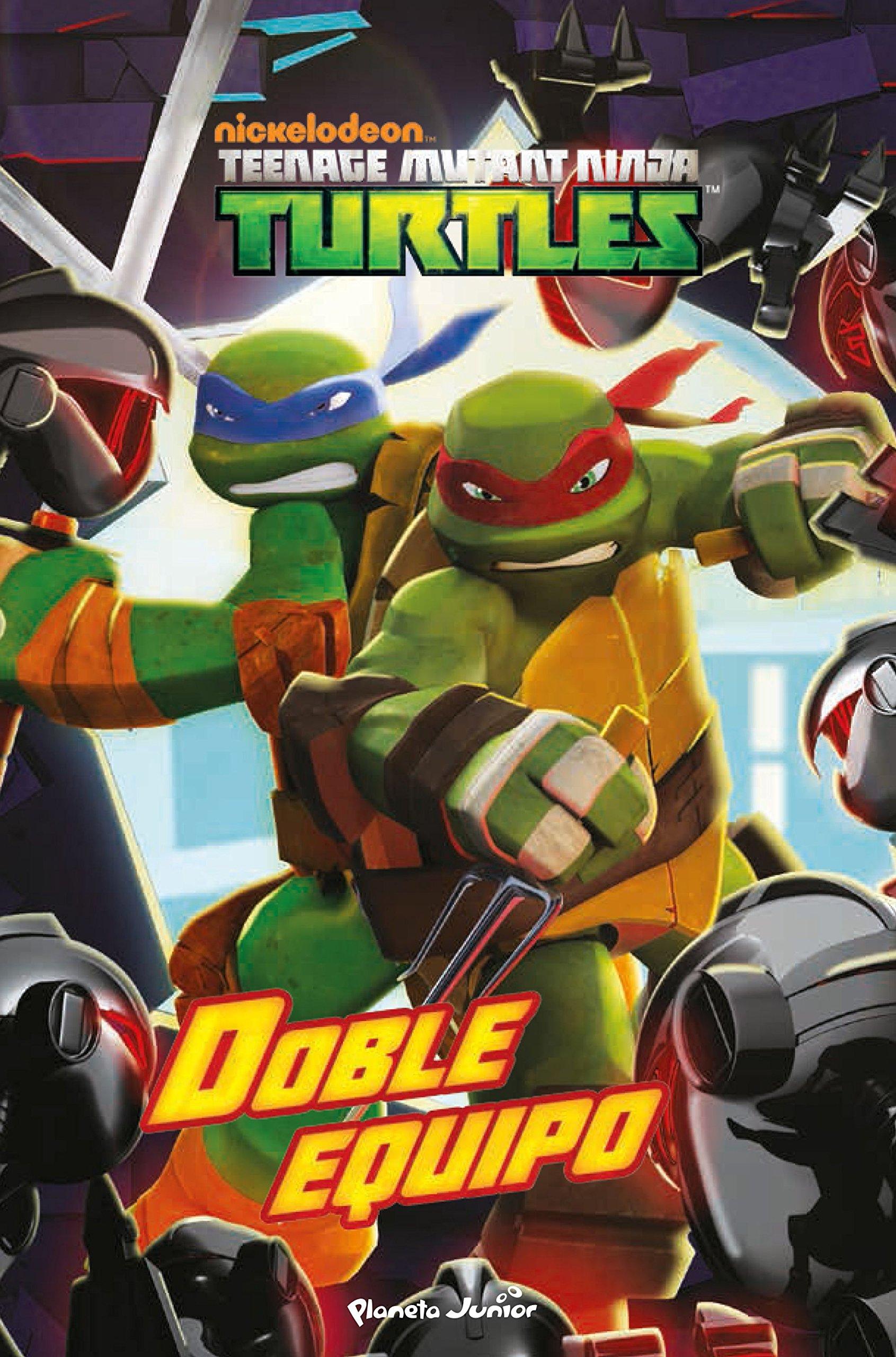 Las Tortugas Ninja. Doble equipo: VV.AA.: 9788408144885 ...