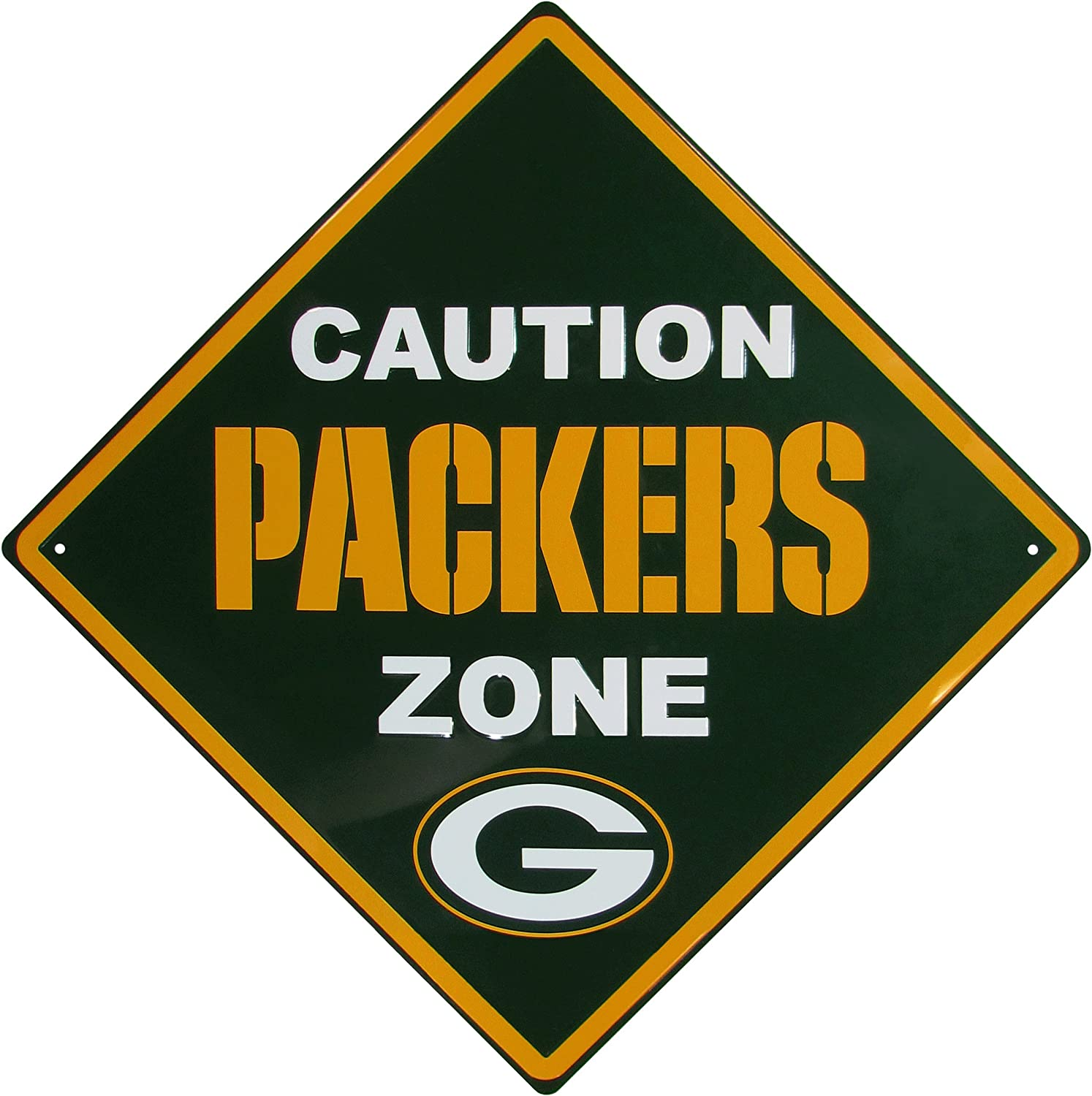 Siskiyou NFL unisex Caution Wall Sign Plaque