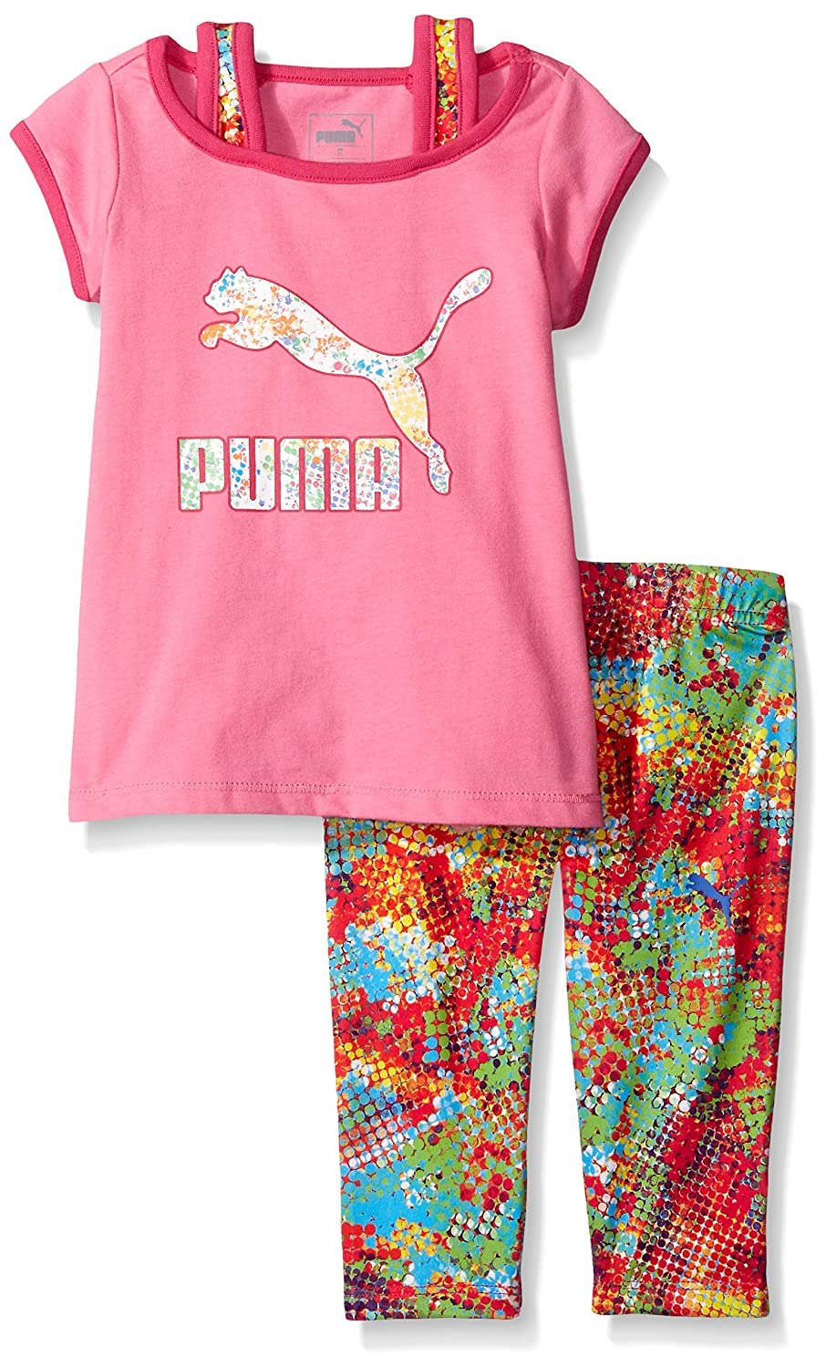 PUMA Girls' Tee Legging Set 51165132
