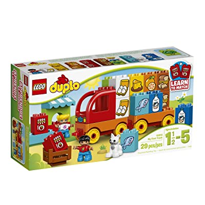 LEGO DUPLO My First Truck 10818 Learning Toy, Large Building Blocks: Toys & Games
