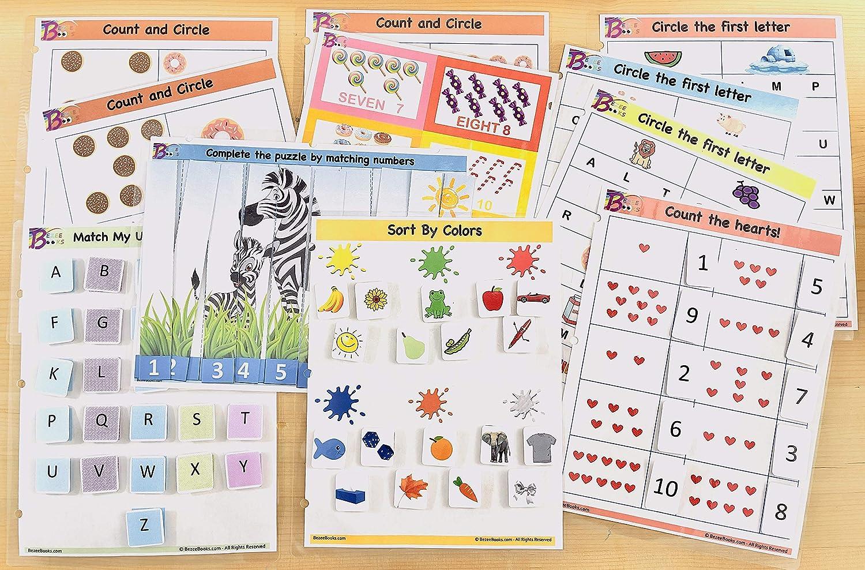 Homeschool Learning Active Kids Activity Binder Busy Book Bundle Kids Activities Pre-School Bundle A Learning Binder Busy Book
