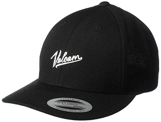 9e4e7e26b91 ... discount code for volcom mens kurrent new era thirty stretch cap black  one size 158e9 3feb3