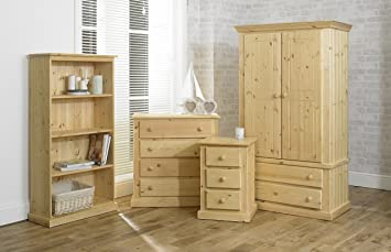 Excellent 4 Piece Solid Pine Bedroom Set Clear Pine Ready Download Free Architecture Designs Rallybritishbridgeorg