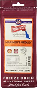 Bravo 294132 Mariners Medley Salmon/Cod/Shrimp Food For Pets, 75-Ounce