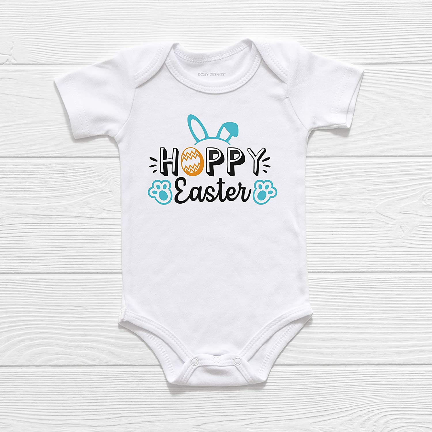 Easter Chocolate Bunnies Funny Easter Gift Cute Baby Long Sleeve Bodysuit