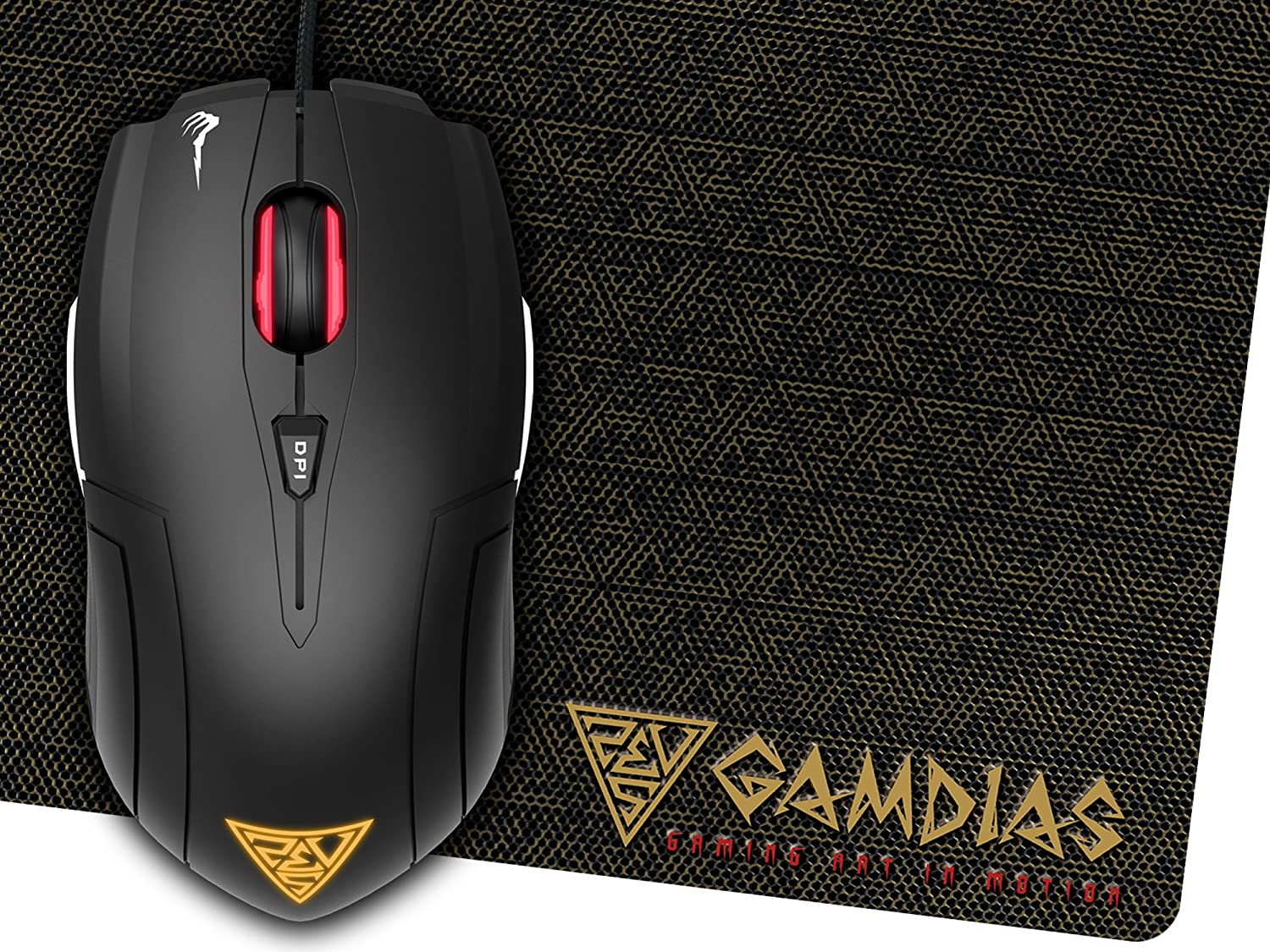 Buy Gamdias Demeter E1 3200dpi Gaming Mouse With Hp M100 Pad Online At Low Prices In India Reviews Ratings