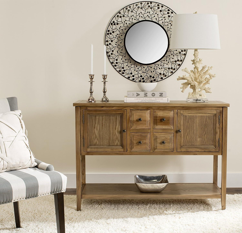 Amazon.com: Safavieh American Home Collection Howden Medium Oak ...