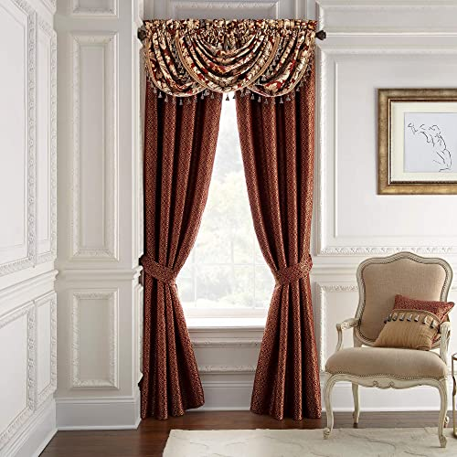 Croscill Arden Curtain Panels, Red