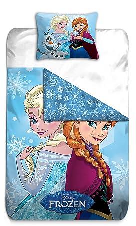 Parure De Lit Reine Des Neiges Elsa Et Anna Housse De Couette
