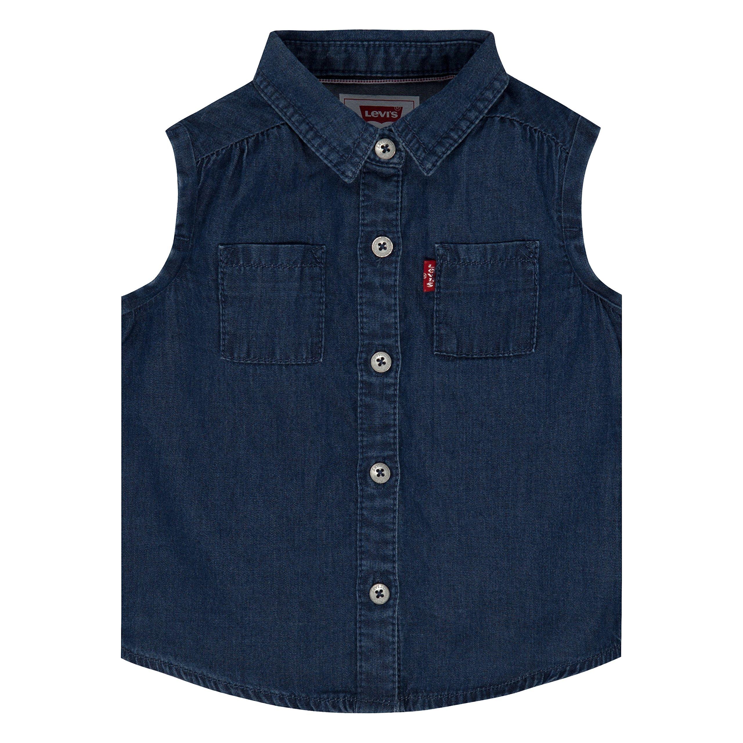 Levi's Baby Girls' Short Sleeve Shirt