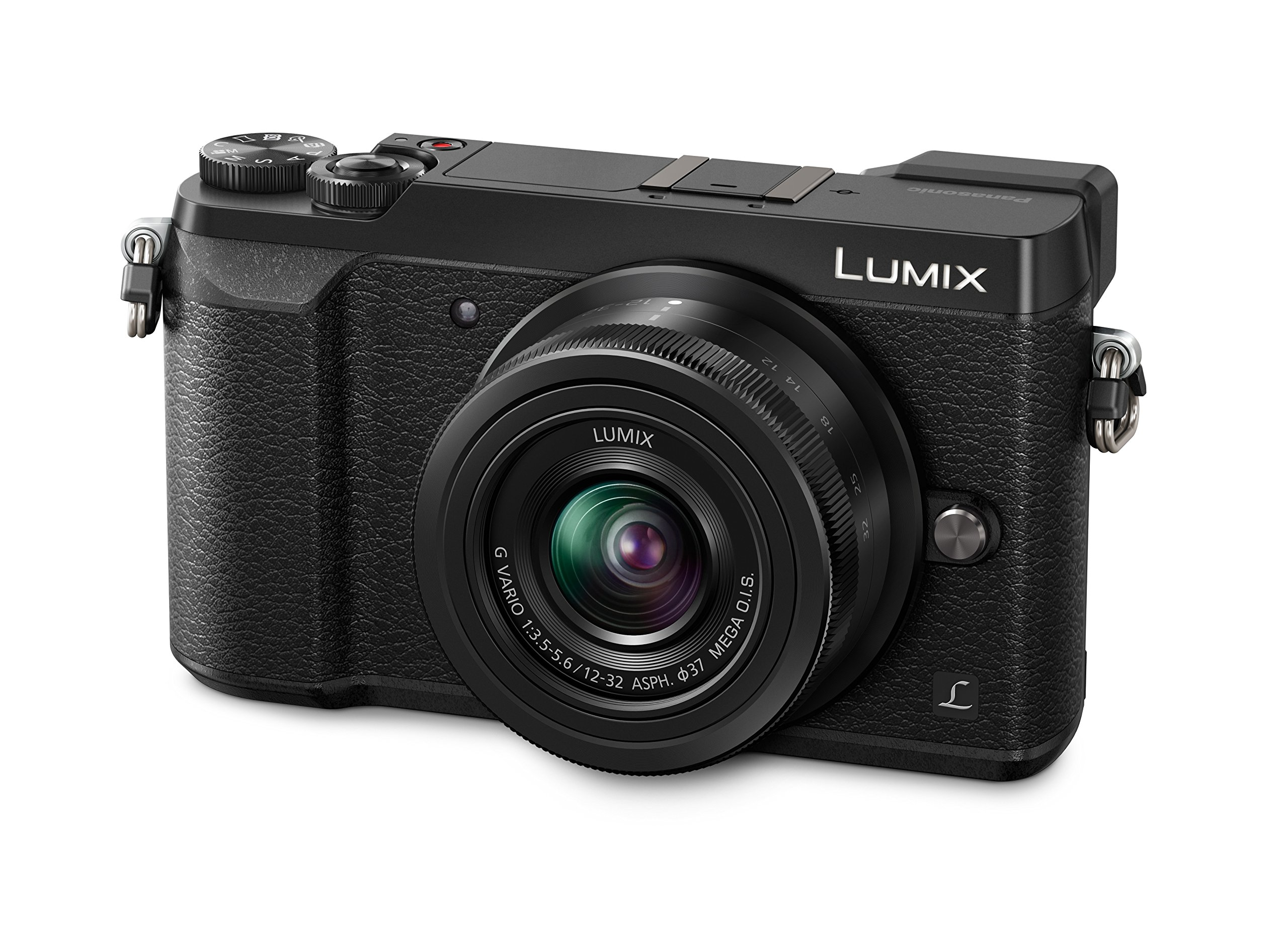 Panasonic Lumix DMC-GX80KEGK Kit Fotocamera Mirrorless GX80 e Obiettivo 12-32mm, 16 MP, Nero product image