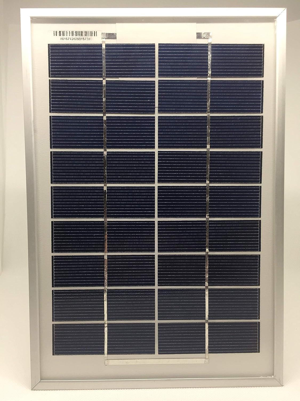 Pannello solare in policristallino fotovoltaico, 9 V, 5 W Villageboom VB-045