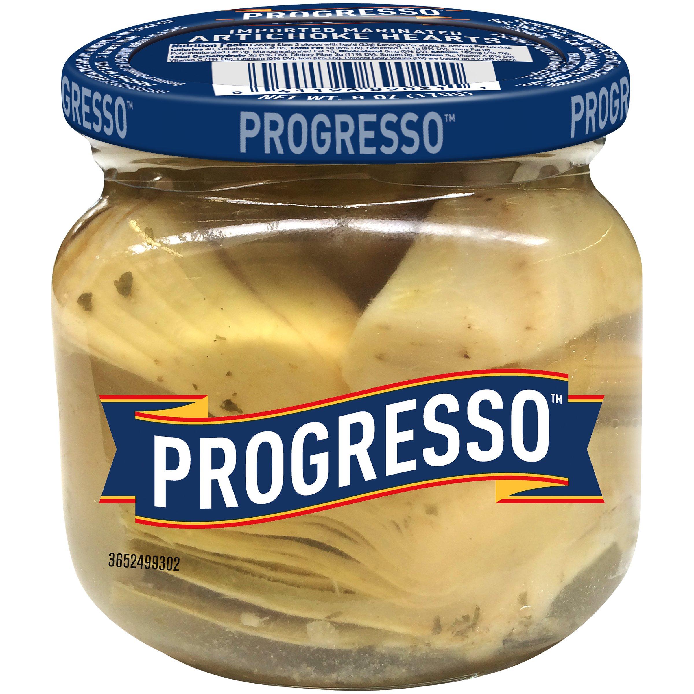Progresso Imported Marinated Artichoke Hearts, 6 oz (pack of 6)