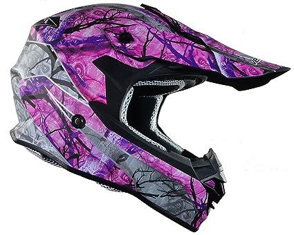 9f8a03b0 Vega Helmets VF1 Lightweight Dirt Bike Helmet – Off-Road Full Face Helmet  for ATV
