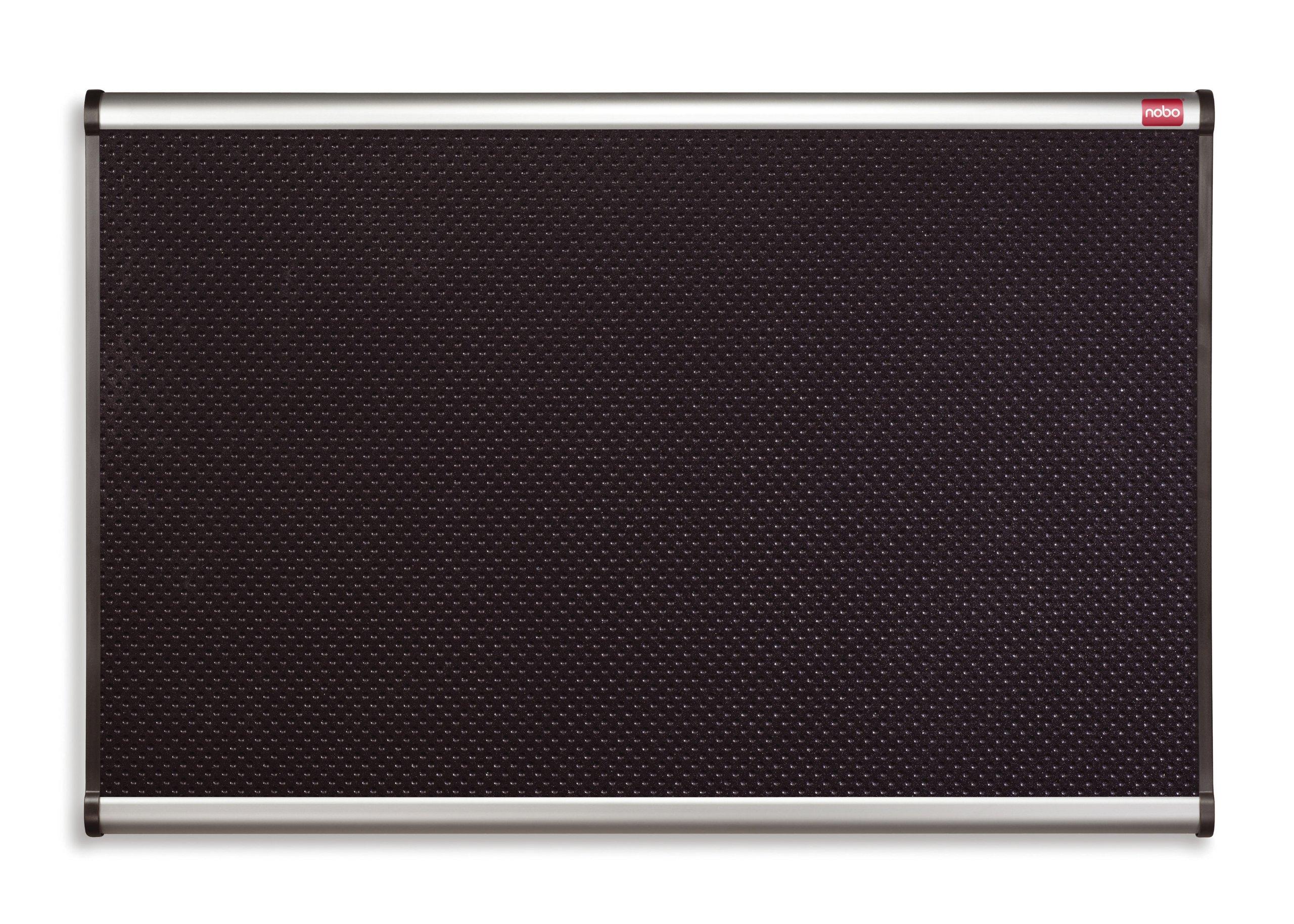 NoBo Black Foam Notice Board 1200x900mm